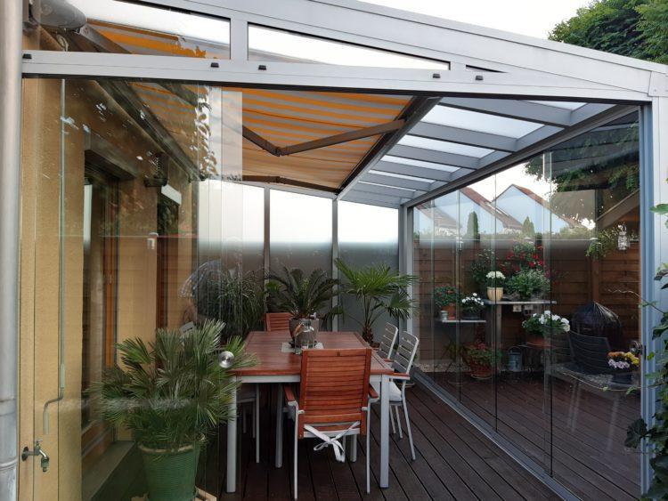 Bauelemente Schmolinski Wintergarten Terrassendach Sanierung Beschattung